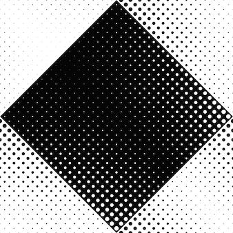 Абстрактный бесшовный черно-белый точечный узор фона