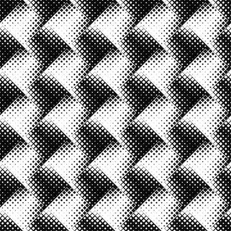 Черно-белый бесшовный геометрический квадратный узор фона
