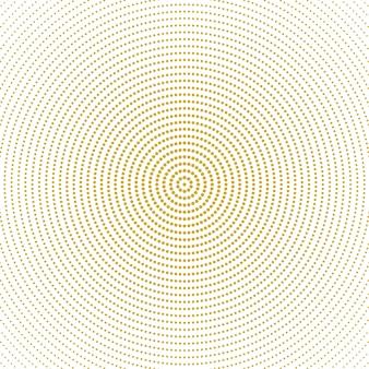 抽象的なハーフトーンモノクロラウンドサークルパターン背景
