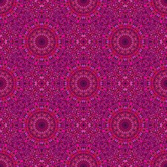 Бесшовные восточный богемный сад мандала мозаика фон