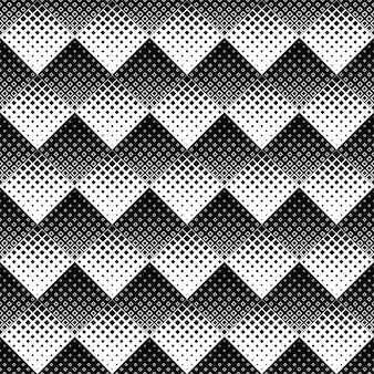 黒と白の抽象的な正方形のパターンの背景