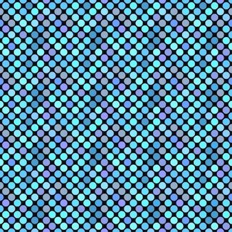 青のドットパターン背景