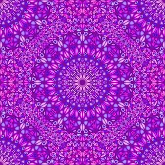 抽象的なシームレスな幾何学的なマンダラ飾りパターン