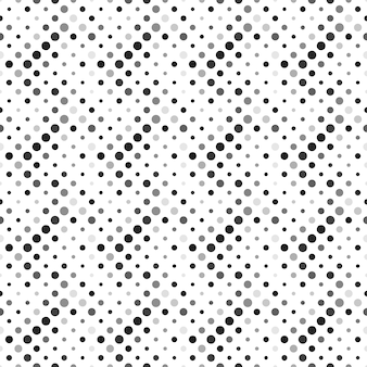 シームレスな幾何学的な灰色のドットパターン背景デザイン