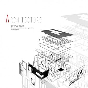 アーキテクチャの背景デザイン