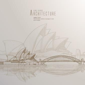 シドニーの背景デザイン