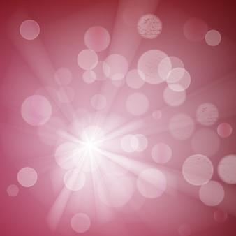 Абстрактный боке сверкает на размытом фоне