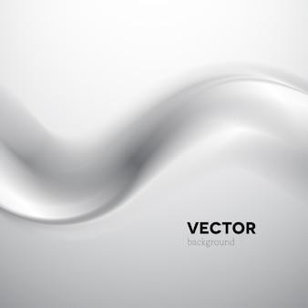 灰色の煙の抽象的なベクトルの背景