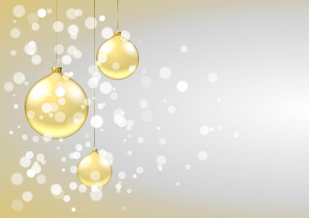 Фон золотые пузыри
