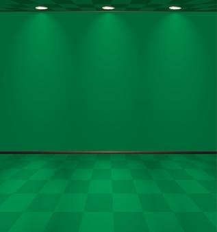 Зеленая комната казино