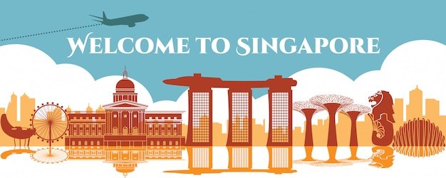 Знаменитая достопримечательность сингапура