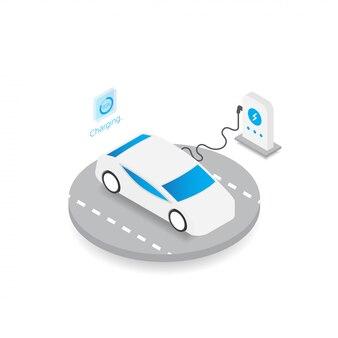 電気自動車のテンプレート