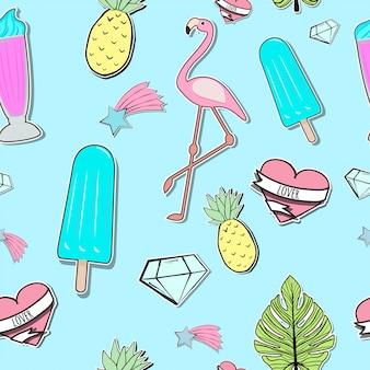 シームレスな夏時間のパターン