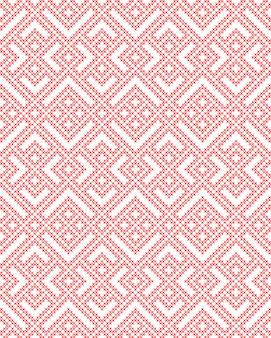 Бесшовный традиционный русский славянский орнамент