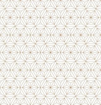 Бесшовные геометрический рисунок на основе японского орнамента кумико.
