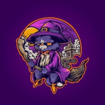 Кот ведьма