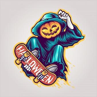 かぼちゃのスケーター