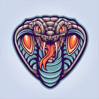コブラの頭