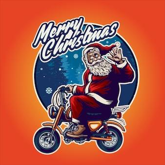Санта-клаус иллюстрация