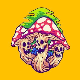 Страшный волшебный гриб