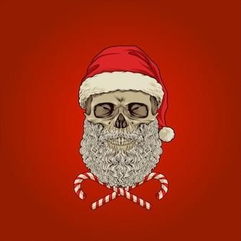 Санта-череп