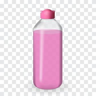 透明な背景にレイアウト瓶がいっぱい。 。