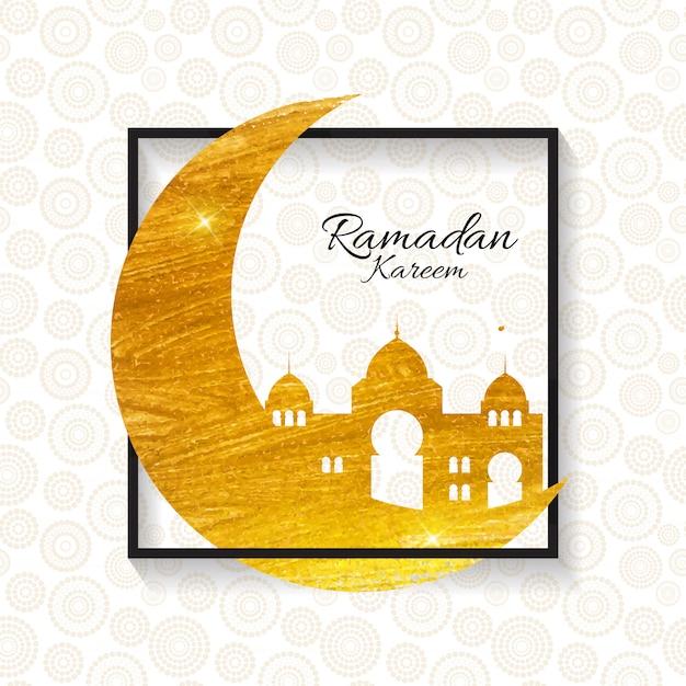 ムスリムコミュニティフェスティバルラマダンカリームのグリーティングカード。