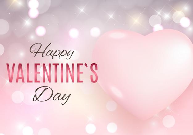 バレンタインデーの愛と感情の販売の背景