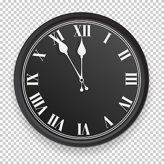 Абстрактный значок часов.