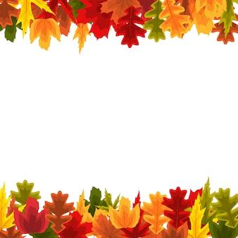 Осенние натуральные листья