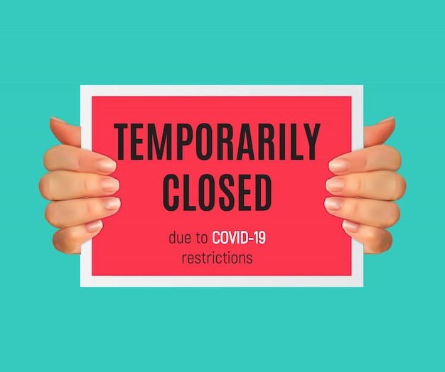 情報警告により、コロナウイルスニュースの兆候が一時的に閉じられました。