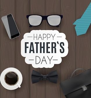 Счастливый день отцов фон. лучший папа иллюстрация
