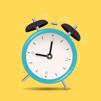 目覚まし時計アイコンの背景。