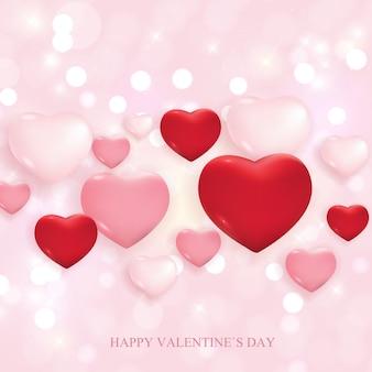 バレンタインデーの愛と感情の販売。