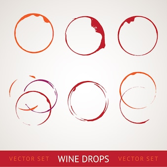 Красное вино пятно.