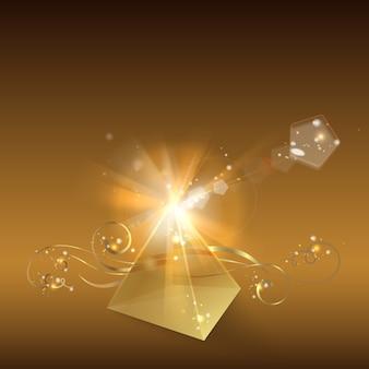 黄金のピラミッド。