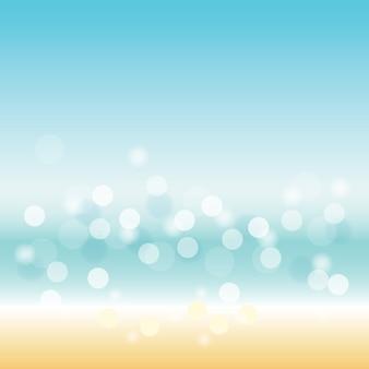 輝く抽象的な背景をぼかし