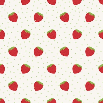 フルーツのパターン設計