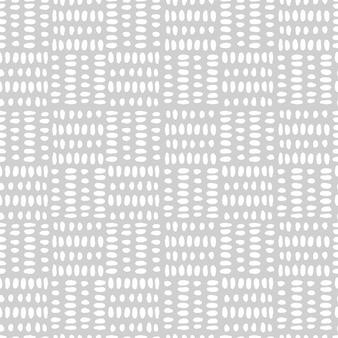 網状の単純な方形白グリッド