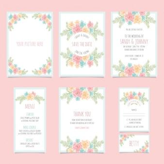 結婚式の文房具のデザイン