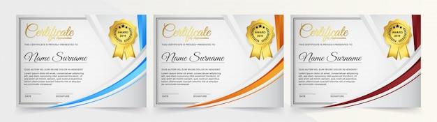 Креативный сертификат благодарности шаблон