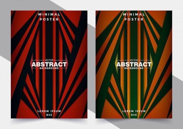 抽象的な幾何学的なカバー