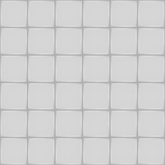 白いセラミックタイル。バスルームの壁または床のシームレスパターン