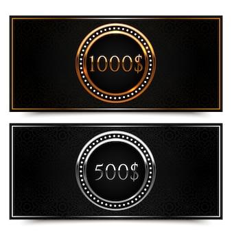 Подарочный сертификат на золото и серебро