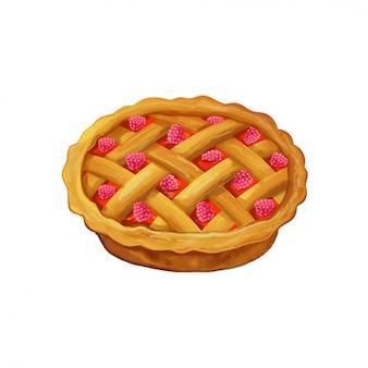 ベリーパイ。木苺