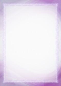 Лист бумаги с фиолетовым, фиолетовым цветом для фона