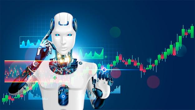 Робот торгует на фондовом рынке