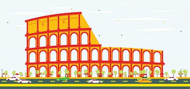 ローマのコロシアム。