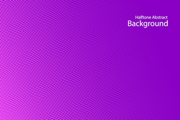 紫の抽象的なハーフトーンの背景