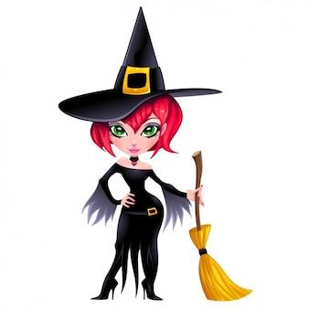 魔女のキャラクターデザイン